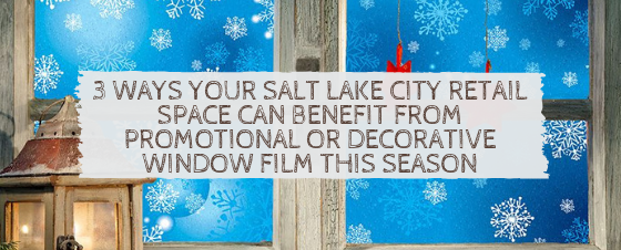 salt lake city holiday window film