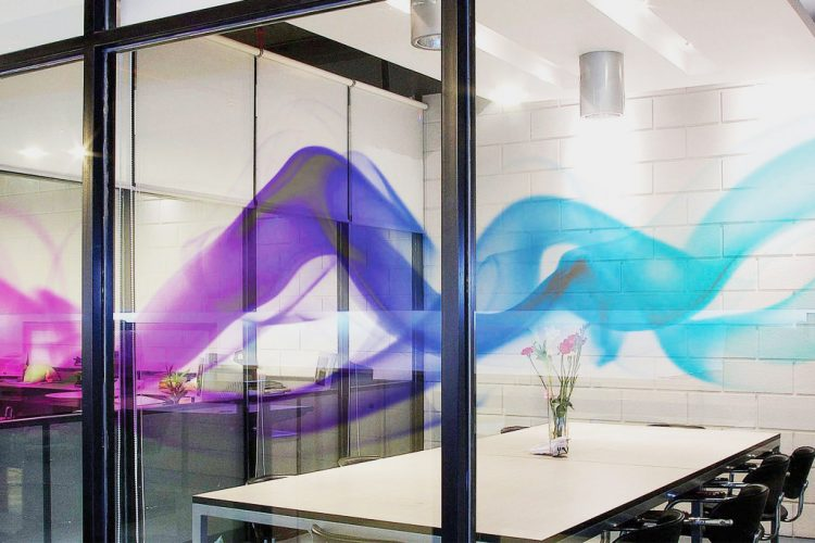 hd clear decorative window film salt lake city office