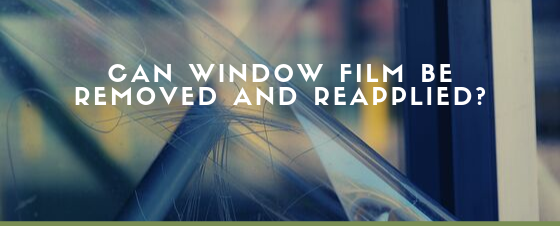 window film application salt lake city